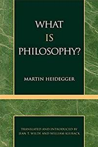 eBook What is Philosophy? (English and German Edition) download