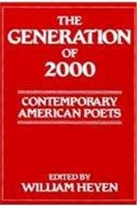 eBook Generation of 2000: Contemporary American Poet (Ontario Review Press Poetry Series) download