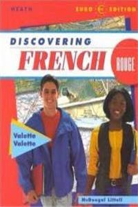 eBook Discovering French: Rouge Level 3 (French Edition) download