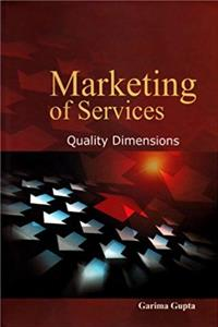 eBook Marketing of Services: Quality Dimensions download