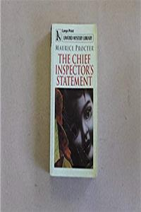 eBook The Chief Inspector's Statement (LIN) (Linford Mystery) download