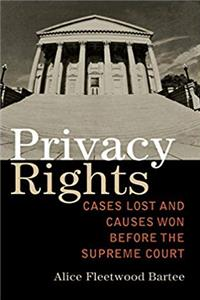 eBook Privacy Rights: Cases Lost and Causes Won Before the Supreme Court download