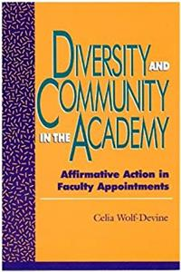 eBook Diversity and Community in the Academy download