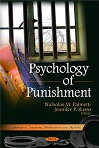 eBook Psychology of Punishment (Psychology of Emotions, Motivations and Actions) download