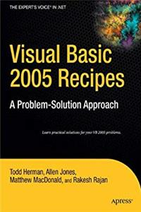 eBook Visual Basic 2005 Recipes: A Problem-Solution Approach (Expert's Voice in .NET) download