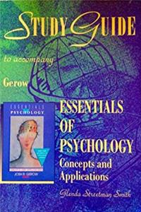 eBook Study guide to accompany Essentials of psychology download