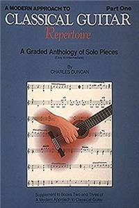 eBook A Modern Approach to Classical Repertoire - Part 1: Guitar Technique (Modern Approach to Classical Guitar) download